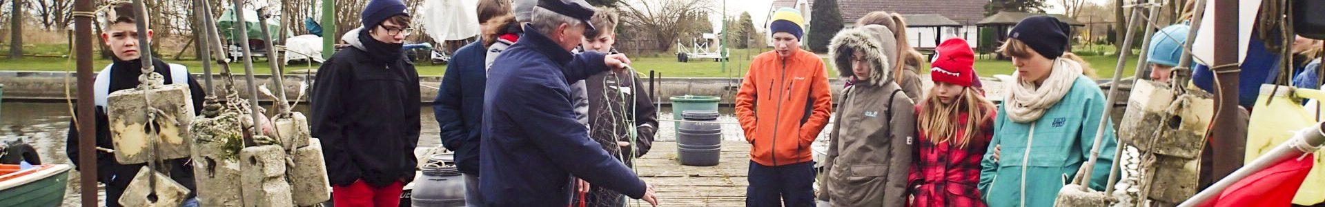 Besuch beim regionalen Fischer