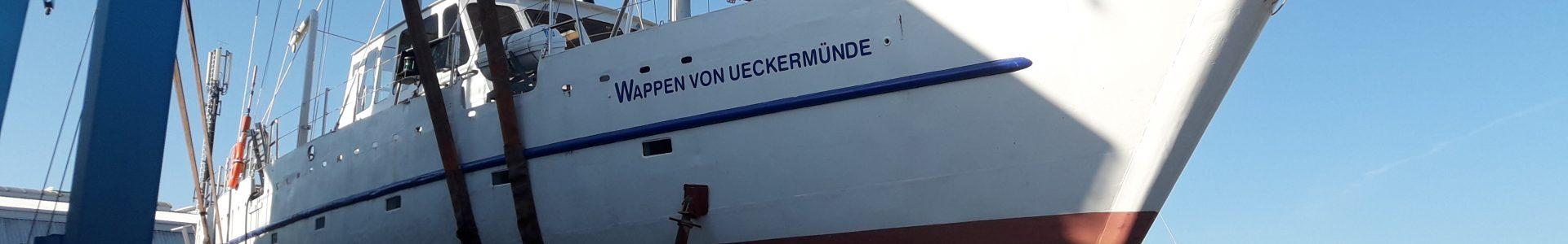 """Arbeitseinsatz Rollisegler """"Wappen von Ueckermünde"""""""